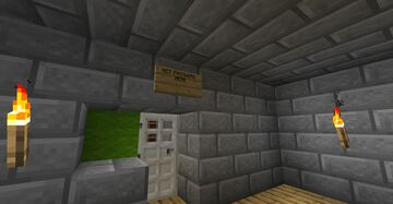 ESCAPE ROOM Minecraft Map & Project