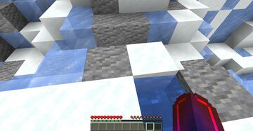 Ice Parkour Minecraft Map & Project