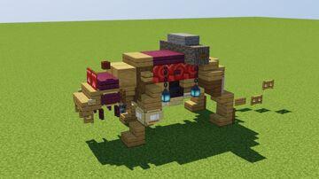 Fantasy Tiger Minecraft Map & Project