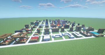 [1.16.5] Furniture Pack (100+ Schematics) Minecraft Map & Project