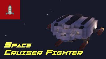 Space Cruiser Fighter (Perhaps of the old republic) Minecraft Map & Project