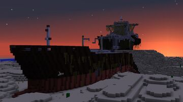Stranded Tanker (Decaying version) Minecraft Map & Project