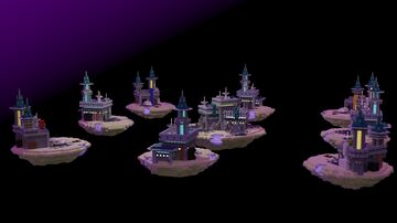 Futuristic Bedwars Map [DOWNLOAD] Minecraft Map & Project