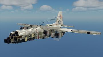 EC-130G - 1.5:1 Scale Minecraft Map & Project