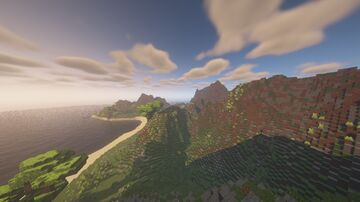 Island Survival 760x760 Minecraft Map & Project