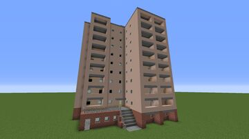Pripyat Block Проспект Ленина 9 Minecraft Map & Project