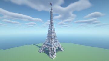 Eiffel Tower in minecraft Minecraft Map & Project