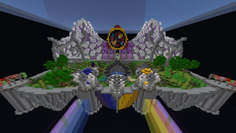 The Lobby, courtesy of the CubeKrowd Build Team!