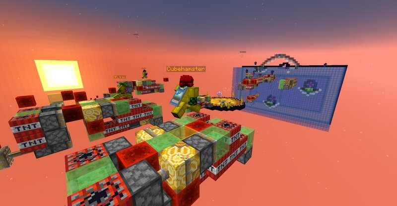 Cubehamster on Rocket Riders!