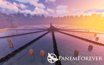 Panem Forever   Catching Fire Arena Recreation   World of the Hunger Games Minecraft Map & Project