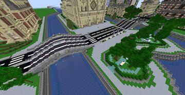 Double Bridge Minecraft Map & Project