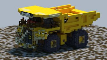 Cat 797F, Mining Hual truck [With Download] Minecraft Map & Project