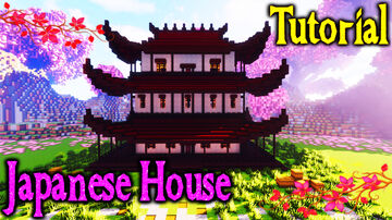 Japanese House Minecraft Map & Project