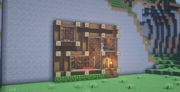 Mountain Base | Base na Montanha Minecraft Map & Project