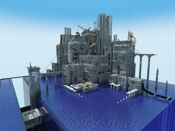 7th Vertex, The Manufactory Minecraft Map & Project