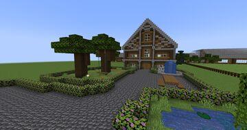 Klancy Park Horse Park + Houses Minecraft Map & Project