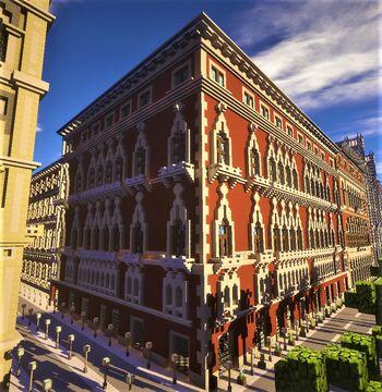 Venetian palace 1 Minecraft Map & Project