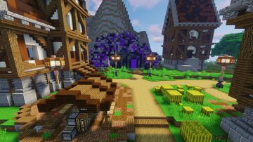 SURVIVAL+MMORPG SERVER SPAWN 1.16.5-1.17 [40%OFF] Minecraft Map & Project