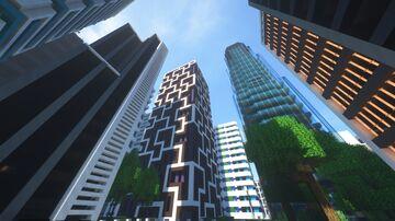 Evercity (Bedrock edition) Minecraft Map & Project