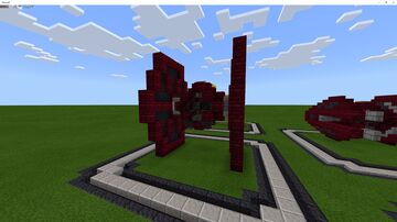 Emperor's Royal Guard TIE/ln Space Superiority Starfighter Minecraft Map & Project