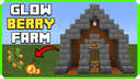 How To Build A Glow Berries Farm In Minecraft Bedrock Edition 1.17 Minecraft Map & Project
