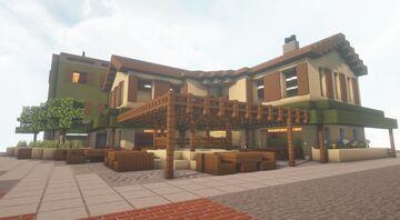 Patio Restaurant Minecraft Map & Project