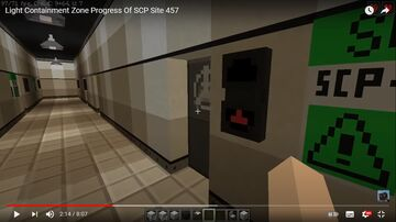 SCP Site 457 Minecraft Map & Project