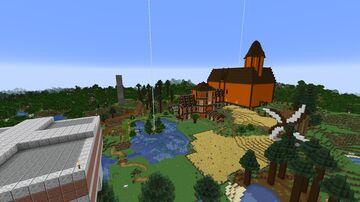 Min Survival Verden v2 Minecraft Map & Project