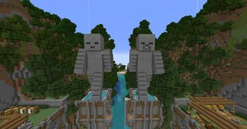 TU69 Tutorial World Deluxe Minecraft Map & Project