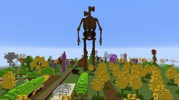 SIREN HEAD Plants vs Zombies Minecraft Minecraft Map & Project