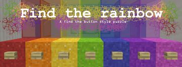 Find the Rainbow! Minecraft Map & Project