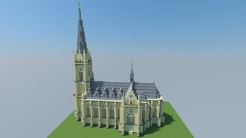 Saint Marys Church/ Marienkirche Hagen, Germany Minecraft Map & Project