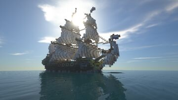 [Fictional ship] 'Botanica' East Indiaman - 50-gun Fourth Rate Minecraft Map & Project