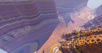 Mesa Passthrough Minecraft Map & Project