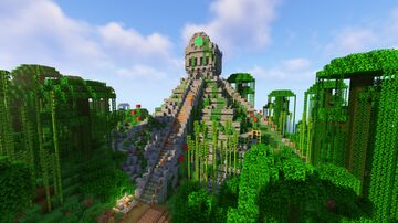 ➥〖Temple of Zaxor!〗  Aztec Temple filled with Traps, Loot, Parkour, and much more!😄 Minecraft Map & Project