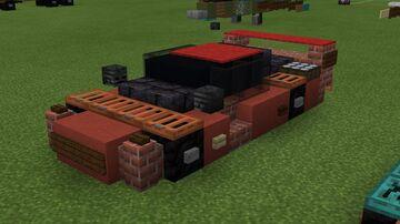 2:1 scale Ferrari F40 Minecraft Map & Project