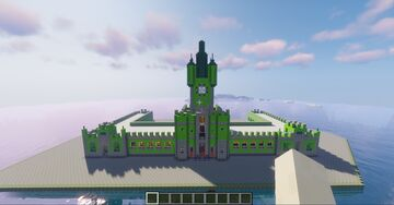 ilha fiscal Minecraft Map & Project