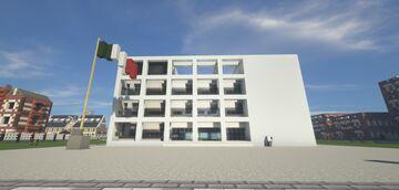 Casa del Fascio/Palazzo Terragni - 法西斯宫/特拉尼大厦 Minecraft Map & Project