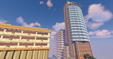 Realistic city building replicas Minecraft Map & Project