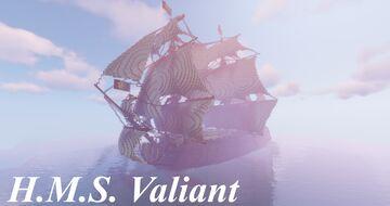 H.M.S. Valiant Minecraft Map & Project