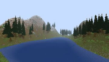 survival in the mountains Minecraft Map & Project