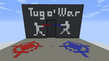 Tug of War Minigame Minecraft Map & Project