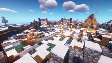 Oius Base Camp Minecraft Map & Project
