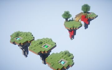 Nature - Bedwars Duels map + FREE DOWNLOAD Minecraft Map & Project