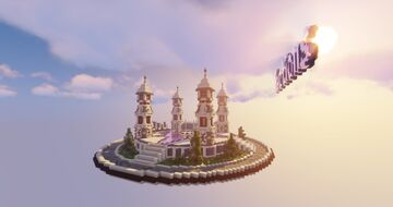 Purple Factions Spawn Minecraft Map & Project