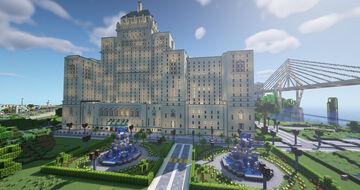 Toronto Fairmont Royal York (Java 1.17.1) Minecraft Map & Project