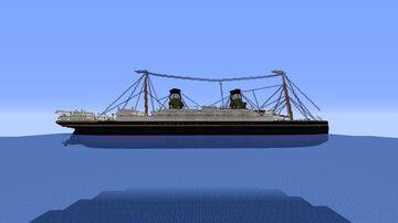 RMS Escondria 1904 (custom ship) Minecraft Map & Project