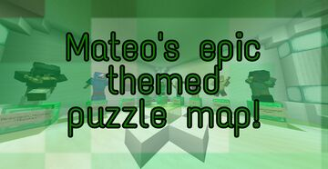 Epic themed puzzle map! Minecraft Map & Project