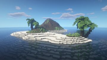 Tiny Palm Island [1.16.5 Survival Map] Minecraft Map & Project
