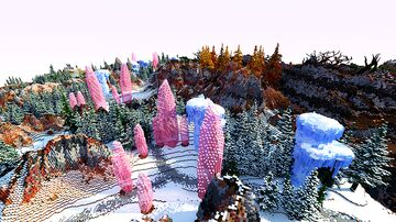 FIRE & ICE WARZONE MAP Minecraft Map & Project